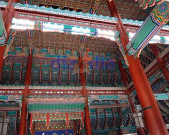 Palacio GyeongBokGung adentro