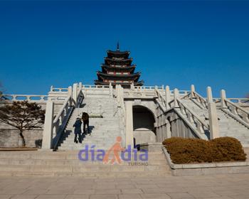 Entrada al palacio GyeongBokGung