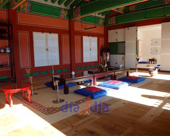 Sala del palacio GyeongBokGung