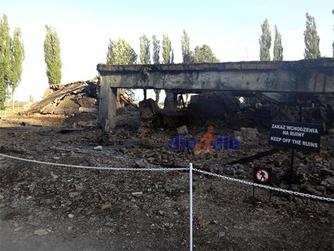 Crematorios en los campos de Auschwitz-Birkenau