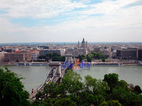 Vista del Castillo de Budapest