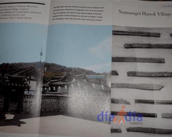 Folleto de Hanok Village