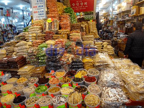 Dogdaemun, mercado de Seul