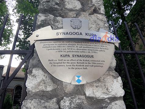 Sinagoga Kupa en Cracovia