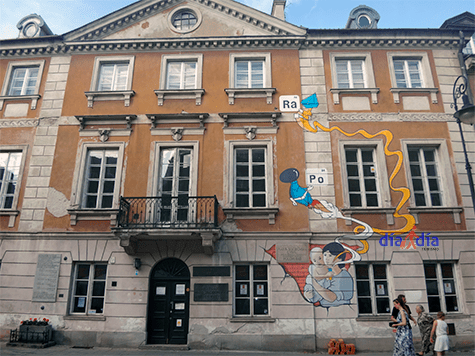 Museo de Marie Curie en Varsovia