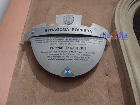 Sinagoga Popper de Cracovia