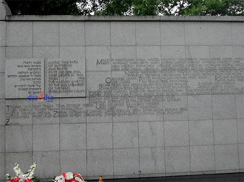 Umschlagplatz en Varsovia